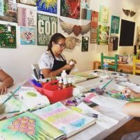 Teen/Tween Art Journaling Club