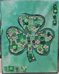 Button Shamrock