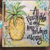 Pineapple on Wood