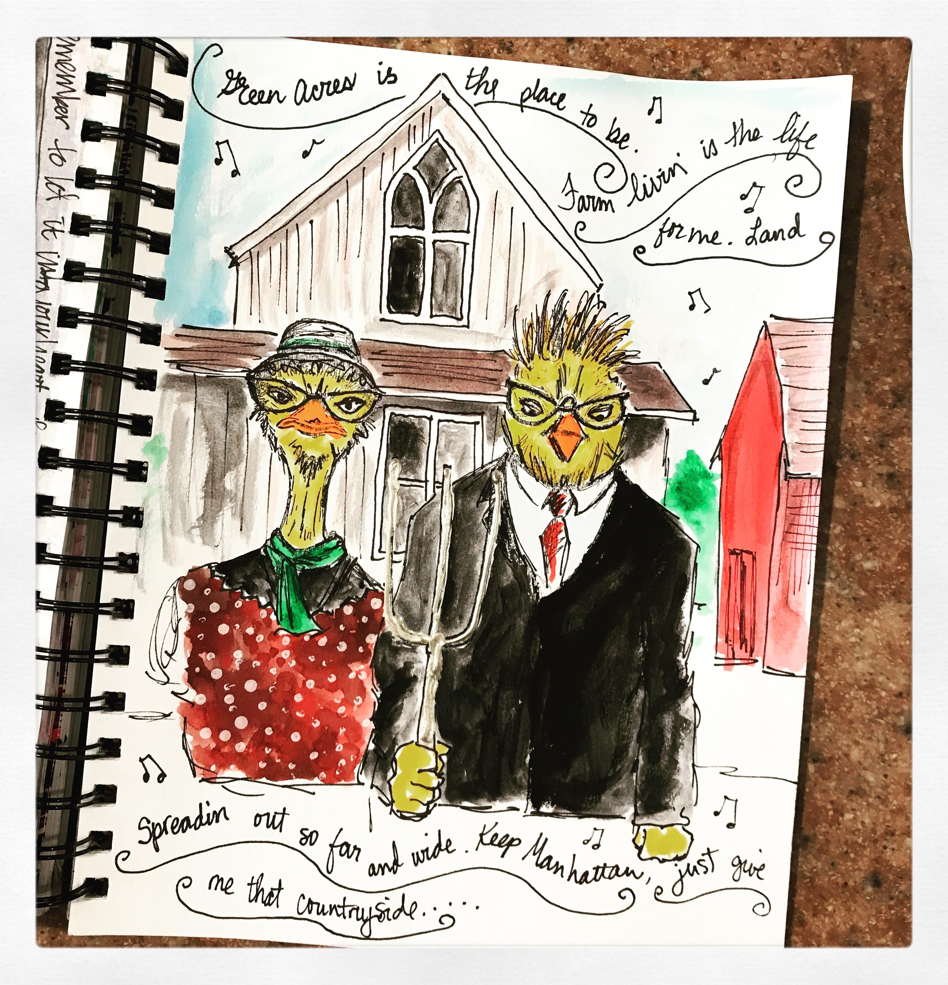 Song Lyric - Green Acres