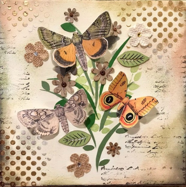 Vintage Butterfly