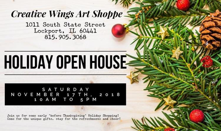 Holiday Open House 2018 Invite