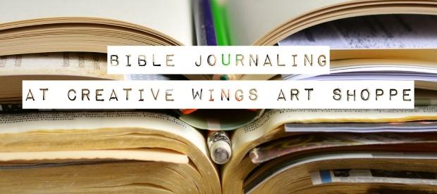 1 BIBLE JOURNALING