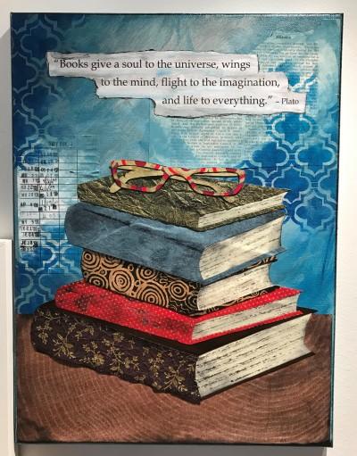 book lovers art