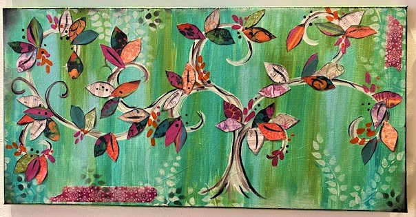 Spring Whimsy Tree